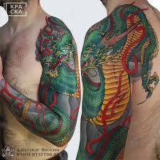японская татуировка Oriental Tattoo Tattoo Magnum