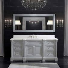 Bathrooms Cabinets : White Bathroom Vanity With Grey Top New ...