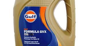 Gulf Formula GVX <b>5W-30</b>