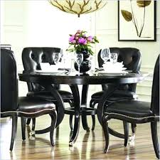 black round dining table and chairs fabulous black dining table set dining room tables awesome round