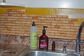 How To Make A Cork Backsplash For Your Kitchen Tutorial Jaderbomb Dsc