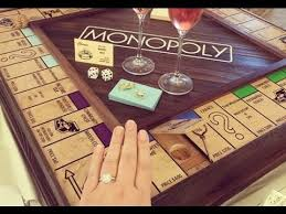 Wooden Monopoly Board Game Man Uses Handcraft Monopoly Board To Propose To His Girlfriend In 28