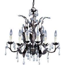 maxim lighting grove 6 light oil rubbed bronze chandelier 8835oi the home depot