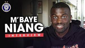 """M'baye Niang : """"Je vis une belle période de ma carrière à Rennes"""" - YouTube"""