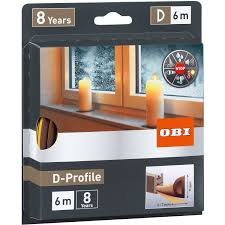 Obi Türdichtung Fensterdichtung Aus Gummi D Profile Braun Kaufen