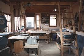 woodworking workshop. workshop interior woodworking