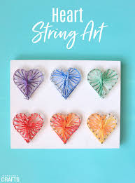 string art diy tutorial colorful