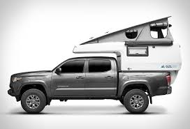 Expanding All-in-One Truck Campers : EarthCruiser GZL Pop-Up Truck ...