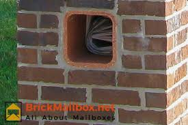 Brick Mailbox Designs BrickMailboxnet