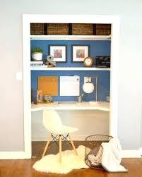 office desk idea. Closet Computer Desk Home Office Ideas Makeover Pertaining To Idea 2 Convert H