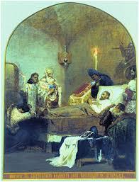 АЛЕКСАНДР ЯРОСЛАВОВИЧ НЕВСКИЙ  со стороны иранского правителя Хулагу Александр Невский отправился в Орду чтобы попытаться отговорить хана от этого требования Там Александр заболел