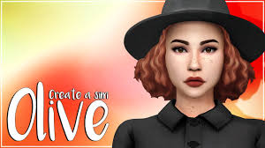 OLIVE | THE SIMS 4 | Create a Sim + CC list and sim download - YouTube