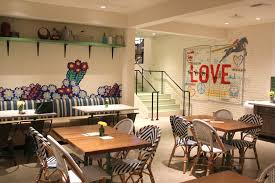Food For The Free Spirited Flower Child Now Open In Del Mar Del - San diego dining room furniture