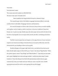 Research Paper Template Free Mla Format Templates Essay A C2