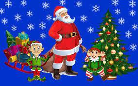 Santa Claus Gifts Wallpaper ...