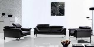 modern black leather couches. Elite Black Leather Sofa Set Modern Black Leather Couches E