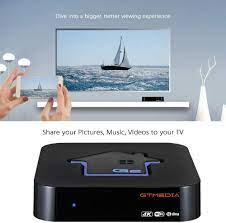 GT MEDIA G2 4K Android TV Box 7.1.2, Amlogic S905W Quad-Core 2GB RAM + 16GB  ROM, Support Netflix in HD, 3D H.265 HEV MPEG-2/4 Wi-Fi 2.4Ghz Smart TV Box:  Buy Online at