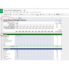 Budget Layout Example 10 Great Google Docs Project Management Templates