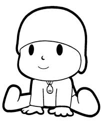 Small Picture The Curious Pocoyo Coloring Page Color Luna