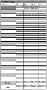 If You're Into Weight Training, This Free Printable Workout Log Can ...