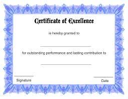 Award Certificate Template Free Award Certificates Free Rome Fontanacountryinn Com
