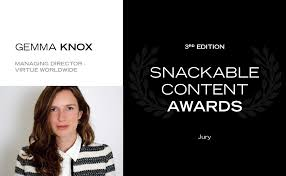 SNACKABLE CONTENT AWARDS 3rd EDITION | JURY
