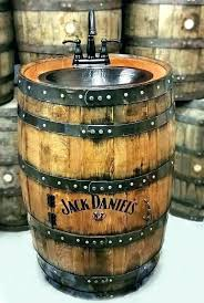 barrel sink bathroom do bourbon barrel bathroom sink