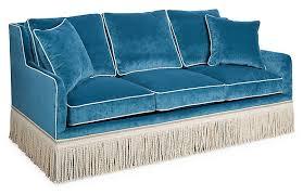 teal velvet sofa furniture teal sofa