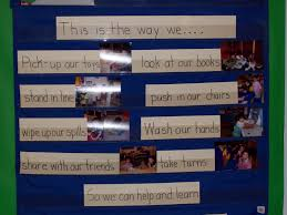 Preschool Class Rules Chart Learning And Teaching With Preschoolers Classroom Rules