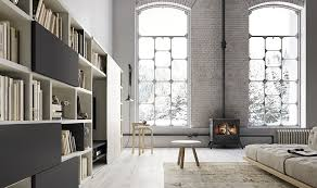 library unit furniture. Furniture, Elegant Home Library With Simple Fireplace And Complewte Modern Wall Unit That Complete Furniture A