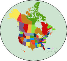 United States Canada Mapchart