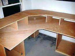 diy u shaped desk. Modren Desk Sophisticated U Shaped Desk Plans L Interior Design With  Computer Build Inspirations Imaginative A Diy And