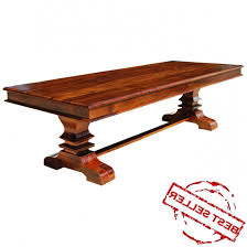 schön all wood dining room table custom made large rustic dining tables