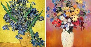 12 famous flower paintings from monet