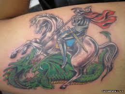 фото тату георгий победоносец клуб татуировки фото тату значения