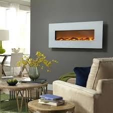 wall mounted fireplaces view a larger image of the touchstone ivory inch electric wall mounted fireplace