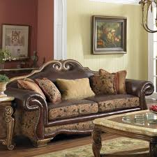 Leather Sofa Design Living Room Camelback Leather Sofa For Decorate The Living Room Jerkchurch Sofas