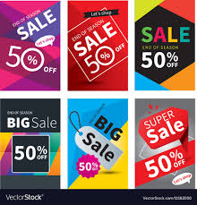 Social Media Sale Banners And Ads Web Template