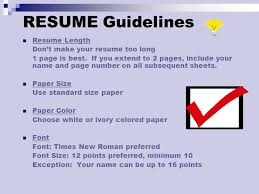 Standard Font Size And Style For Resume Standard Font Size And Style For Resume Best Fonts For Your Resume