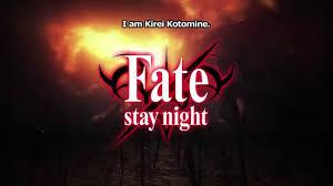 <b>Fate</b>/stay night <b>Kirei Kotomine</b> Trailer - YouTube