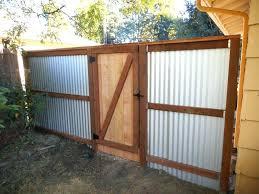 corrugated metal fencing fence panels tucson uk corrugated metal fencing