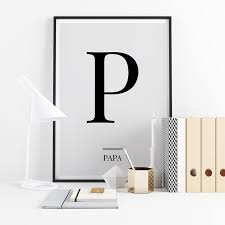 Phonetic alphabet lists with numbers and pronunciations for telephone and radio use. Black Letter P Papa Nato Phonetic Alphabet Minimalist Free Printable Wall Art Frintables