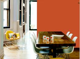 Orange And Yellow Living Room Dining Room In Peking Orange Dining Rooms Rooms By Color