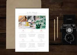 Wedding Photographer Timeline Template - New Client Studio Welcome ...
