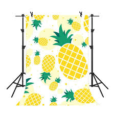 Amazoncom Mme 5x7ft Simple Photography Background Pineapple