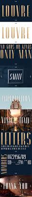 Louvre A Classic Display Font by arthy_   GraphicRiver