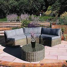 curved rattan garden furniture off 58