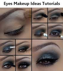 midnight blue eye makeup tutorial