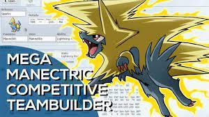 Mega Manectric Volt-Turn Competitive Team Building (Pokemon Showdown ORAS  OU Facecam) - YouTube