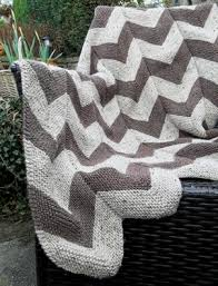 Chevron Knitting Pattern Beauteous Summer Knitting Garter Stitch Chevron Blanket Throw Knitting Pattern